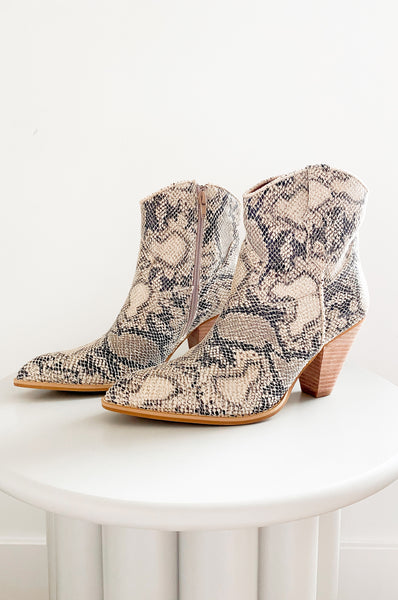 Cosette Snake Boots