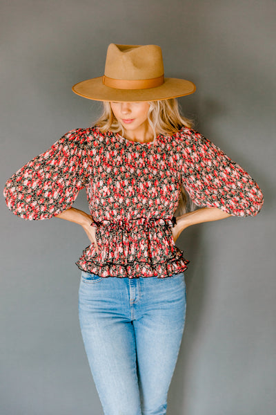 Quigley Floral Top