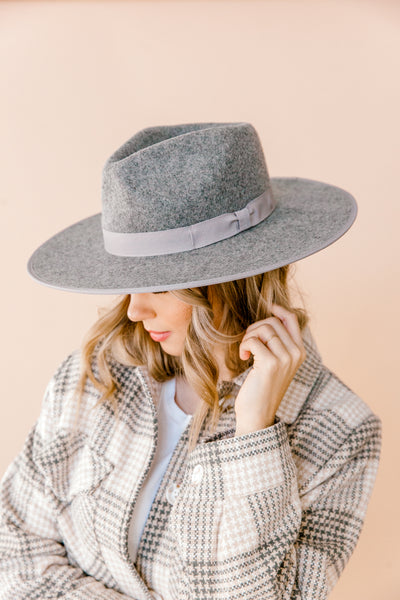Walker Rancher Hat in Grey