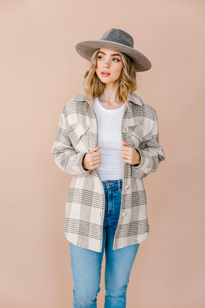 Connelly Plaid Jacket