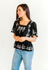 Frannie Embroidered Top