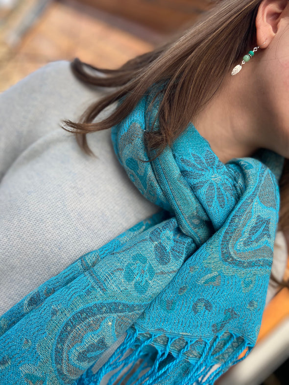 Paisley Scarf - Antique