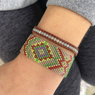 Woven Bracelet - Traditions - golden