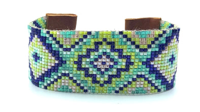 Woven Bracelet - Big Bang - water