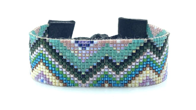 Woven Bracelet - Mountains - alpine