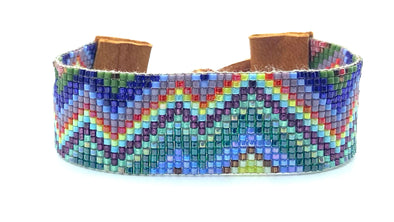 Woven Bracelet - Mountains - summer