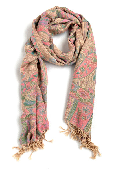 Paisley Scarf -  Desert Bloom
