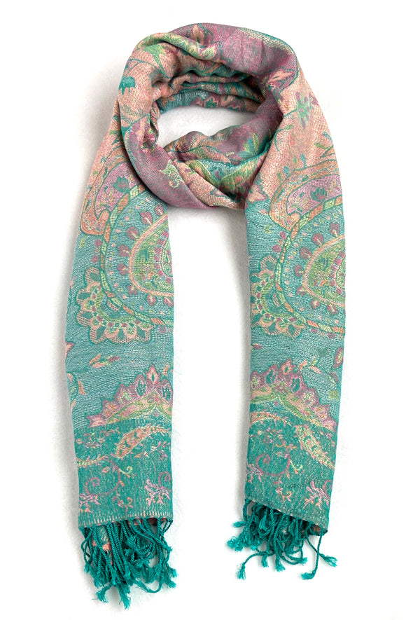 Paisley Scarf - Meadow
