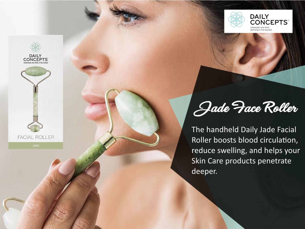 NEW - Jade Face Roller