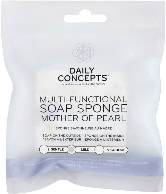 Multi Functional Soap Sponge - Mother of Pearl - In stock now