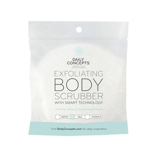 Exfoliating Body Scrubber with Smart Technology