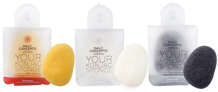 Daily Konjac Sponge (3 colours)