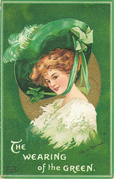 Free Graphic Friday - St. Patrick's Day Lady