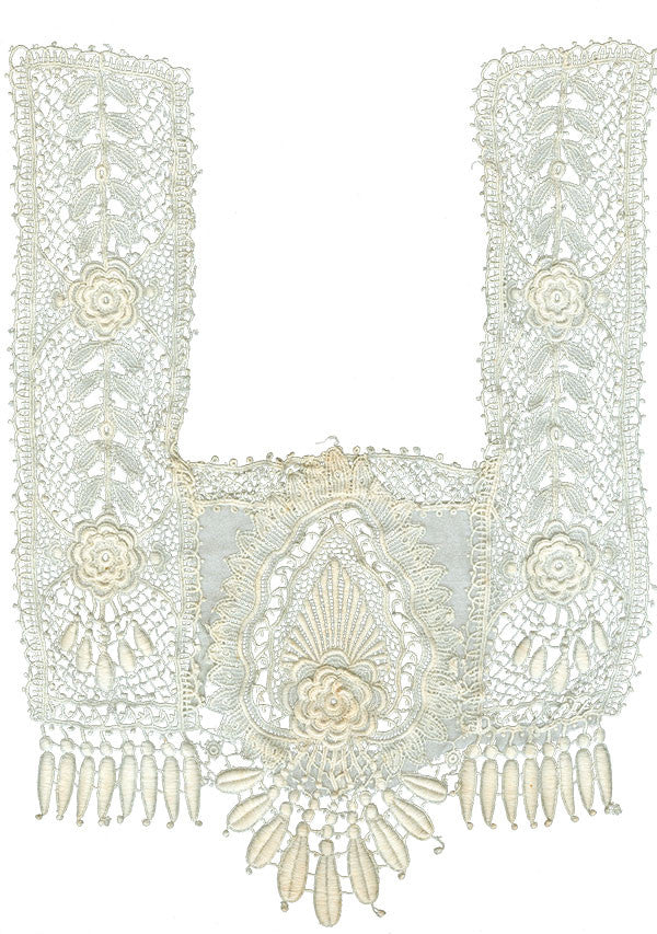 Free Graphic Friday - Antique Lace Collar