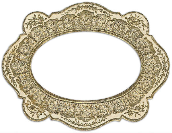 Free Graphic Friday - Vintage Gold Frame Graphic