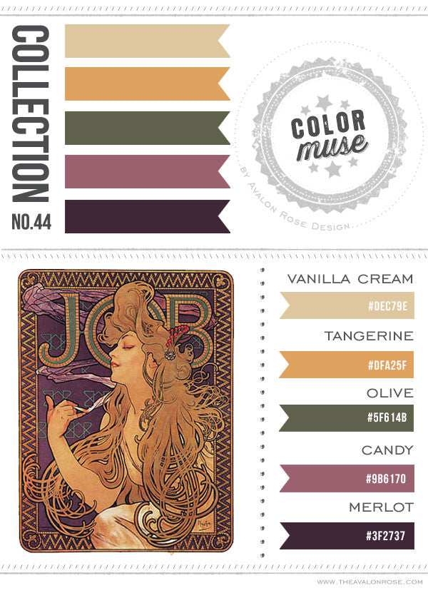 Color Muse: Collection No. 44