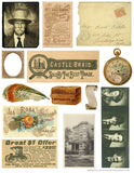 Free Vintage Graphics Collage Sheet - No. 4