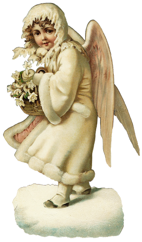Free Vintage Angel Graphic