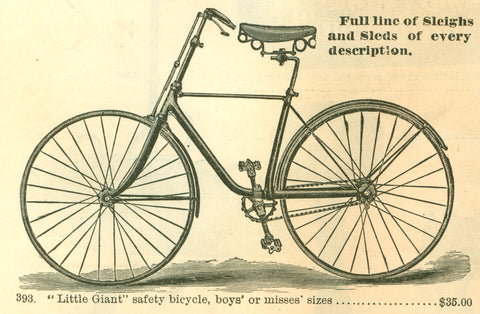 Free Vintage Bicycle Graphic