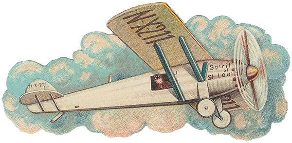 Free Vintage Airplane Graphic