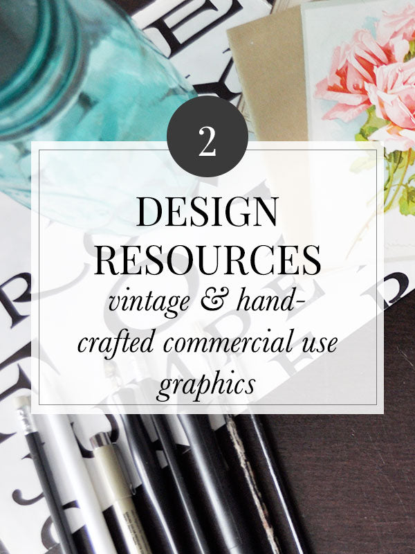 Vintage Graphics and Design Resources