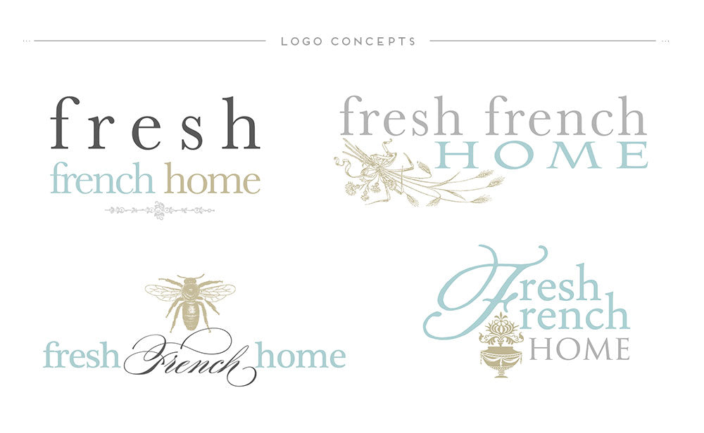 Custom Logo Fresh French Home