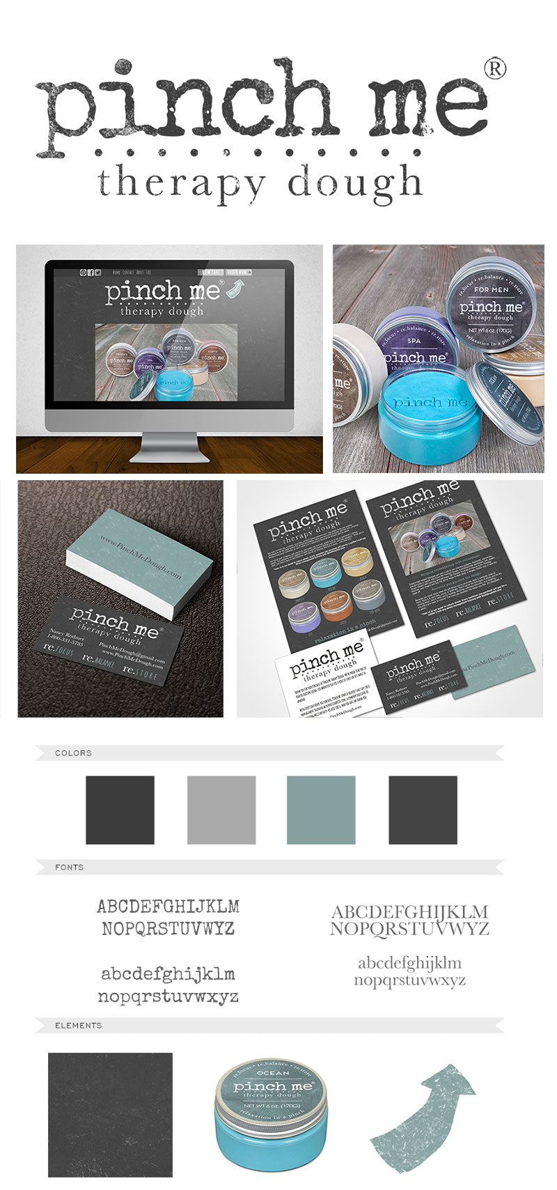 Custom Website Logo Packaging and Book Design