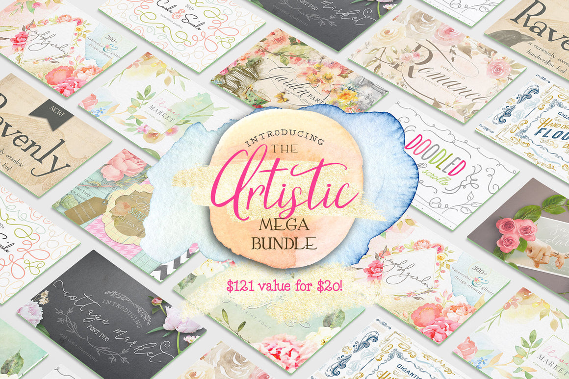 The Artistic Mega Bundle