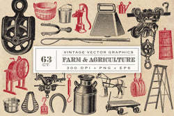 Farm and Agriculture Vector Graphics