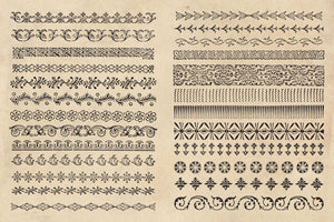 Antique Borders & Ornament Graphics