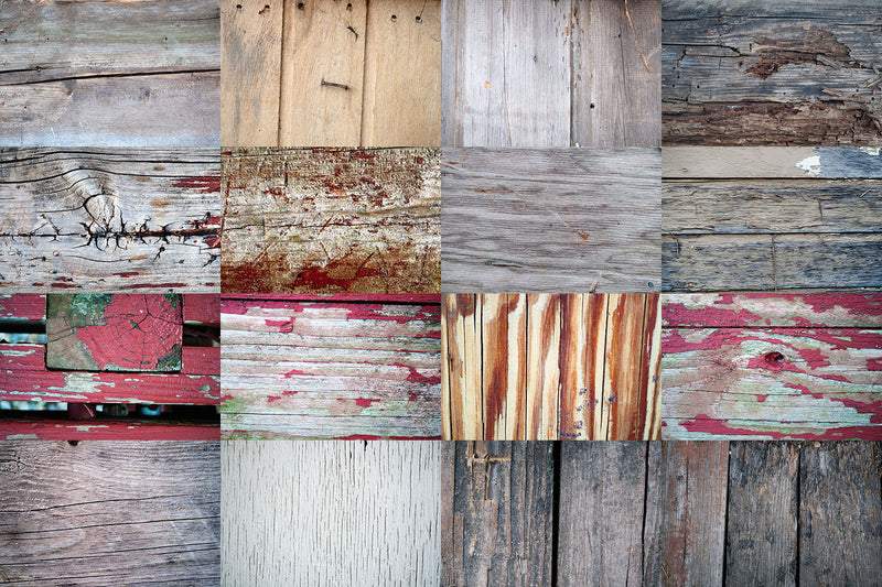 Barn & Farmhouse Wood Texture Graphics