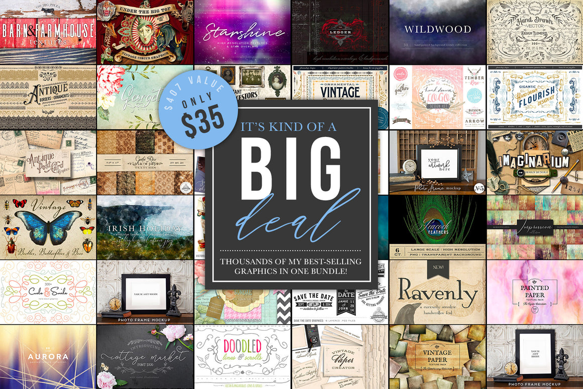 The BIG Deal Design Bundle
