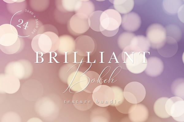 Brilliant Bokeh Texture Graphic Bundle