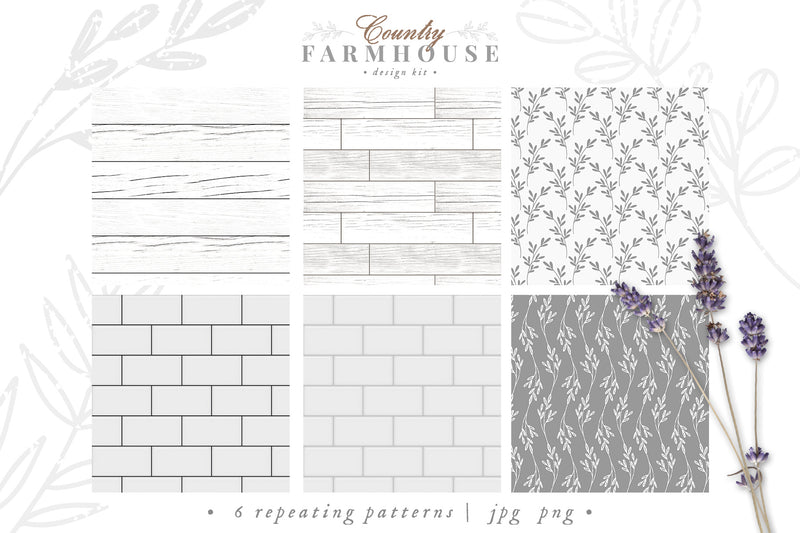 Country Farmhouse Design Kit