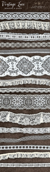 Vintage Lace Borders & Edges No. 2