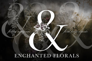 Enchanted Floral Monogram Set