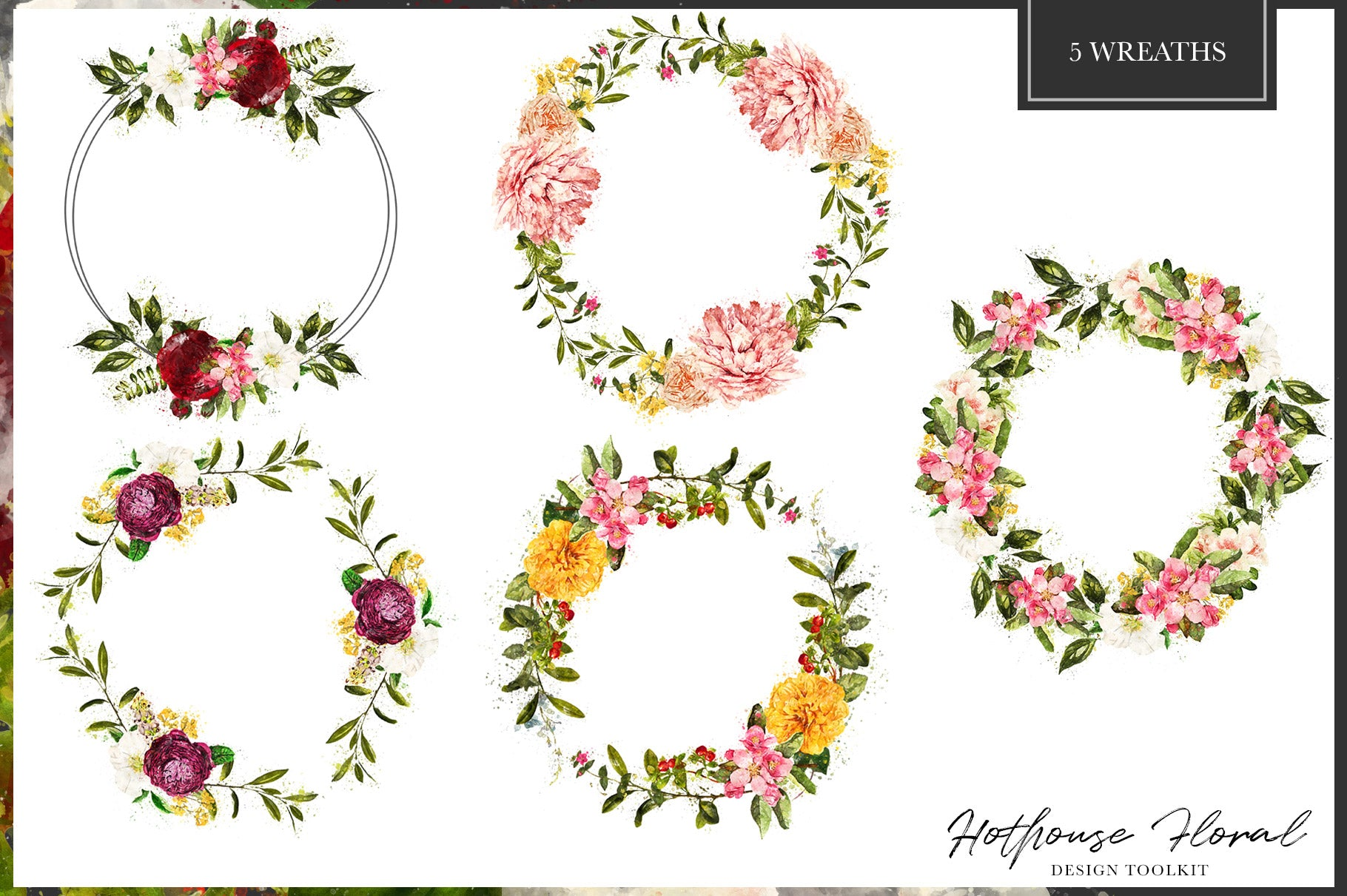 Hothouse Floral Design Toolkit Avalon Rose Design