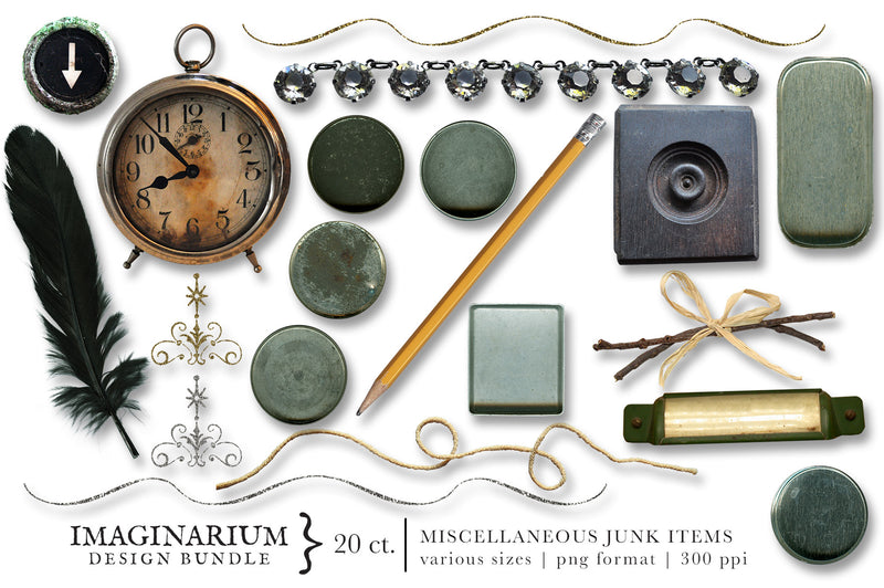 Imaginarium Vintage Junk Graphics Bundle