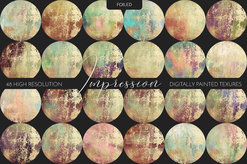 Painted Texture Bundle - Impression Collection