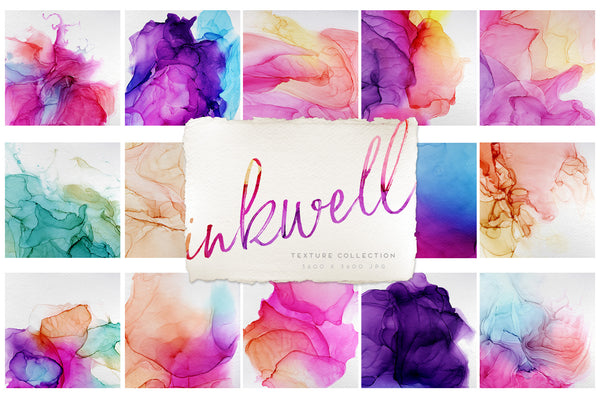 Inkwell Paper Texture Graphics