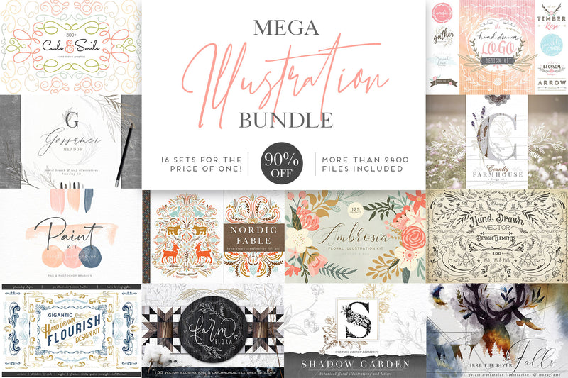 MEGA Illustration Sale Bundle