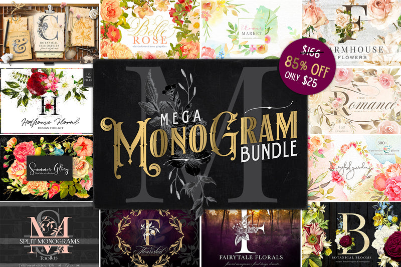 MEGA Monogram Bundle