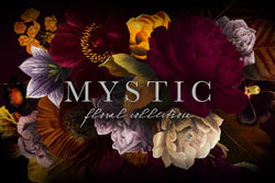 Mystic Floral Graphics Clip Art Collection