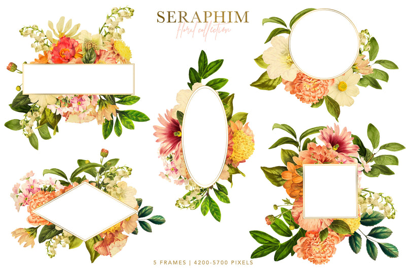 Seraphim Floral Collection Kit