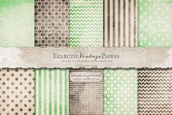 Vintage Printable Papers - Spring Plantings