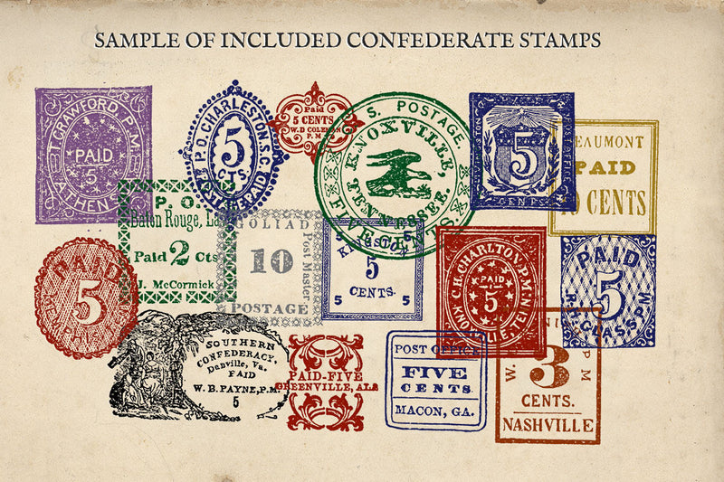 Antique US Stamp Graphics