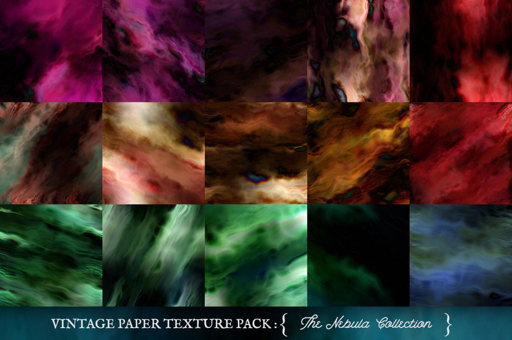 Painted Paper Textures The Nebula Collection