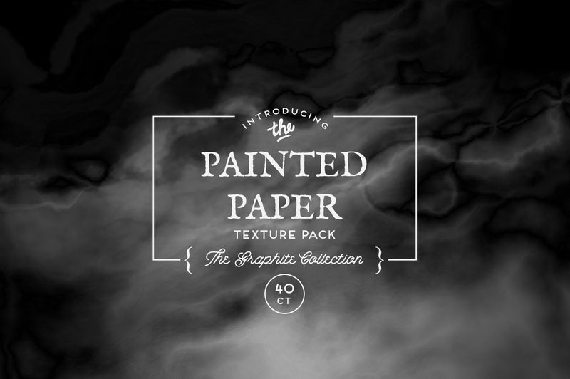 Painted Paper Textures The Graphite Collection
