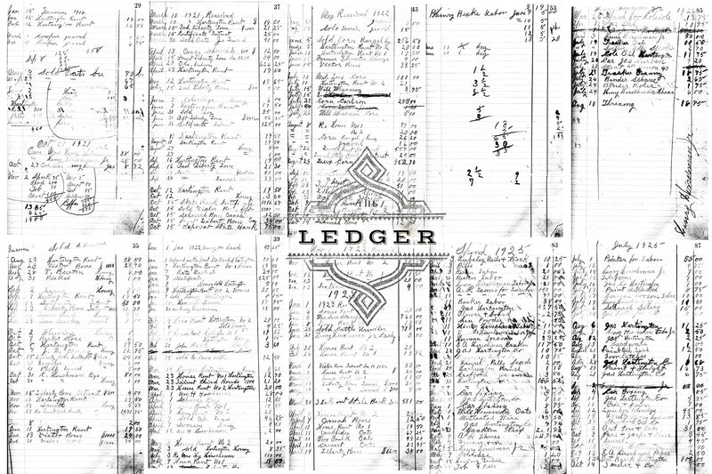 The Ledger Hi-Res Overlays & Papers