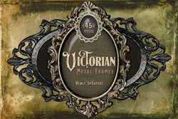 Victorian Metal Frames Digital Graphics